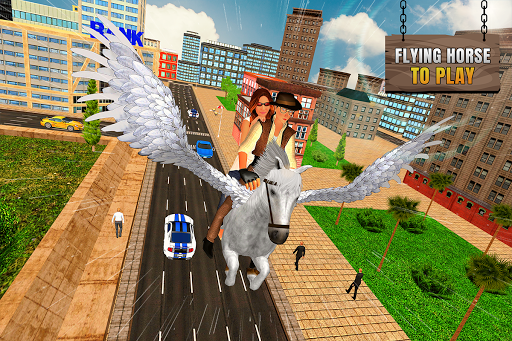 Flying Horse Taxi City Transport: Horse Games 2020 2.2 screenshots 12