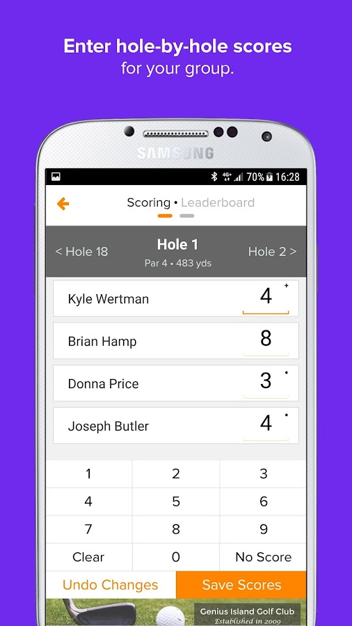 Golf Genius- screenshot