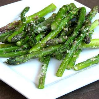 Garlic Parmesan Baked Asparagus Recipe