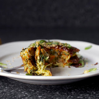 Japanese Vegetable Pancakes