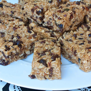 No Bake Sunflower Oat Bars