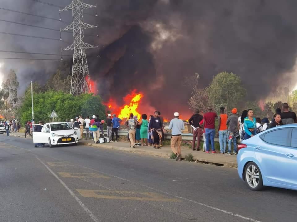 Fire rips through Maritzburg informal settlement