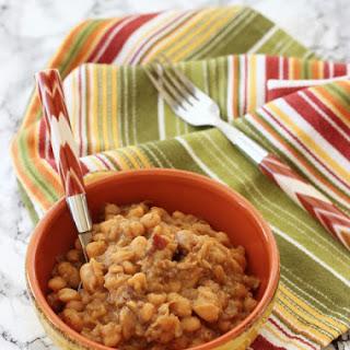 Crockpot Boston Baked Beans