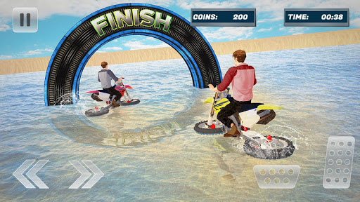 Water Surfer Bike Beach Stunts Race filehippodl screenshot 1