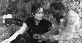 "Photo: ""Die Abwesenheit""BRD 1992Sophie Semin, Eustaquio Barjau"