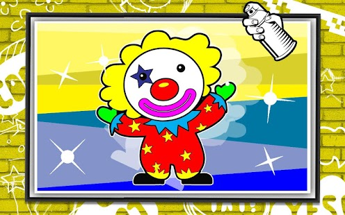 Coloring Killer Clown Craze screenshot 2
