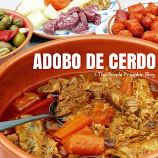 Adobo de Cerdo.
