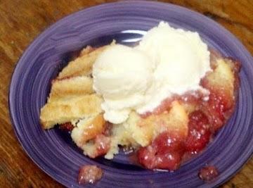 Strawberry - Peach Cobbler Recipe