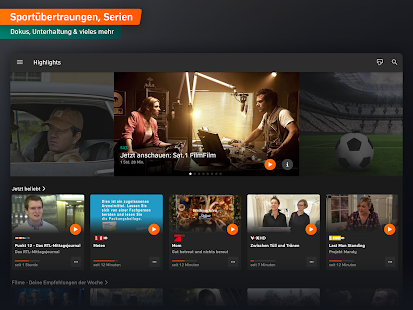 Zattoo - TV Streaming App Screenshot