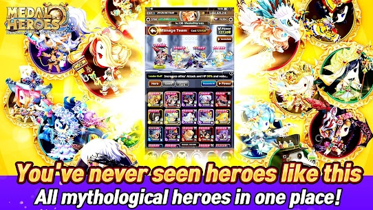 Medal Heroes : Return of the Summoners Mod Apk Download For Android and Iphone 3