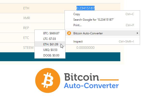 konvektor bitcoin