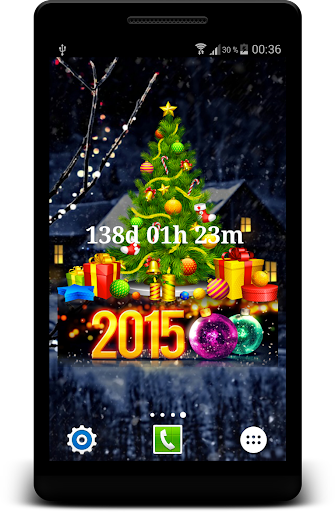 Christmas Countdown Widget HD