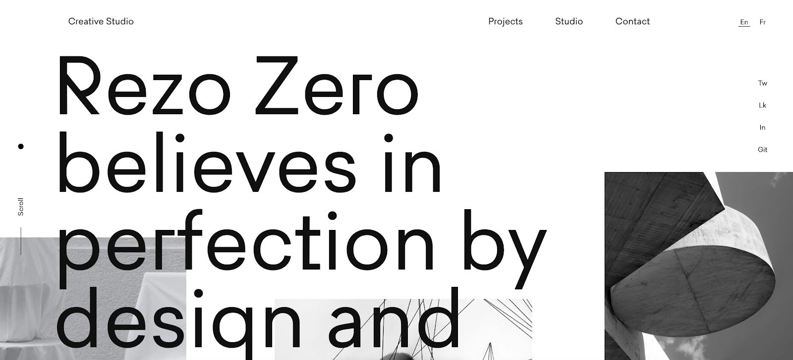 Web Developer Portfolio of Rezo Zero