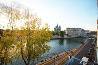 Notre Dame with best views of the Seine from your own private terrace