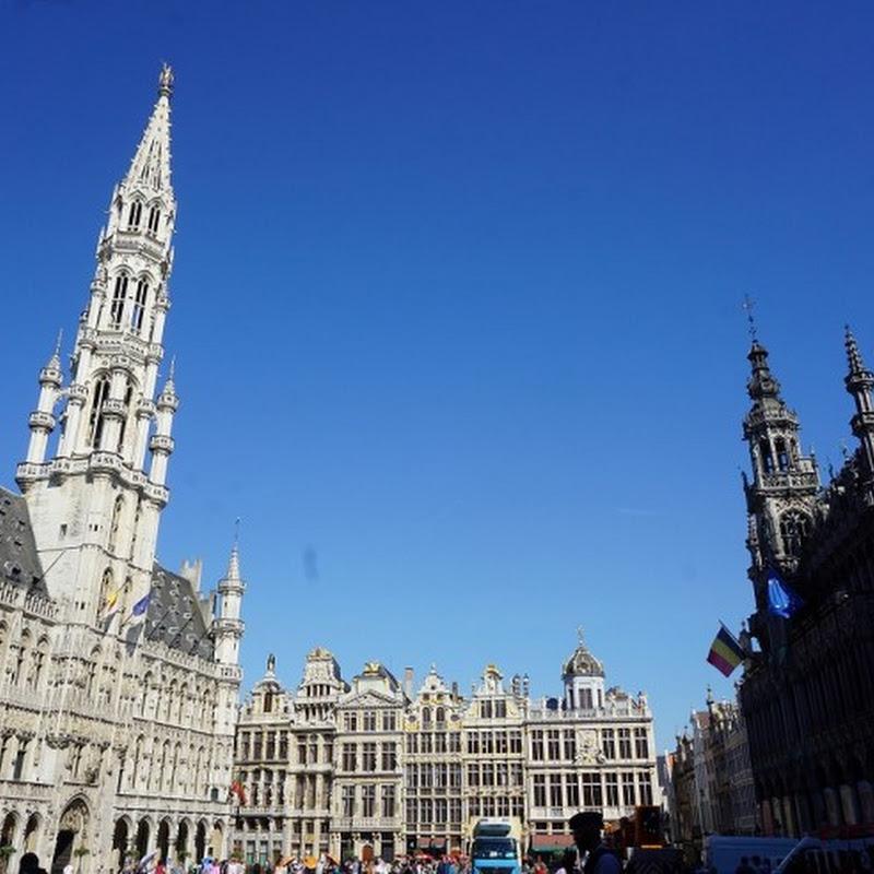 【世界で最も美しい広場】ベルギー・ブリュッセルの世界遺産グラン・プラスは壮大な美の結晶