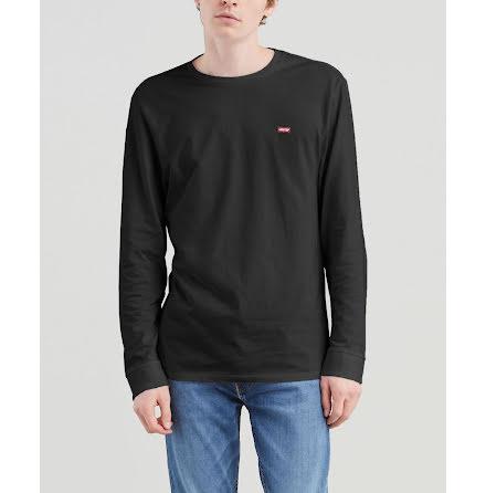 Levi's LS original HM tee cotton patch mineral black