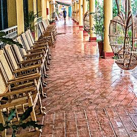 Rocking Chairs by Richard Michael Lingo - Artistic Objects Furniture ( artistic objects, rockers, furniture, rocking chairs, cuba )