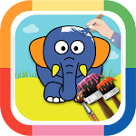 Animal Coloring Book & Drawing Icon