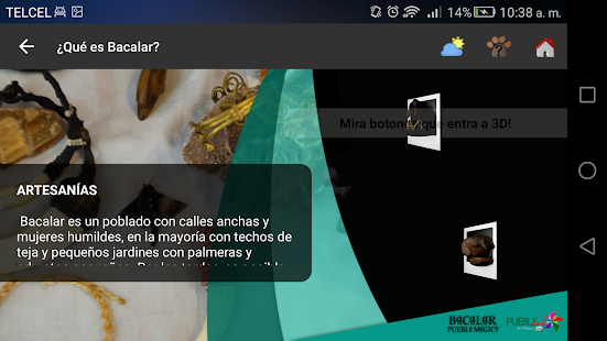 Puebleando en 3d quintana roo android apps on google play for Cuisine 3d android