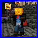 City of eternal Halloween. Map for Minecraft icon