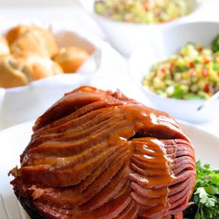 Slow Cooker Honey Ham with Pineapple Salsa Recipe
