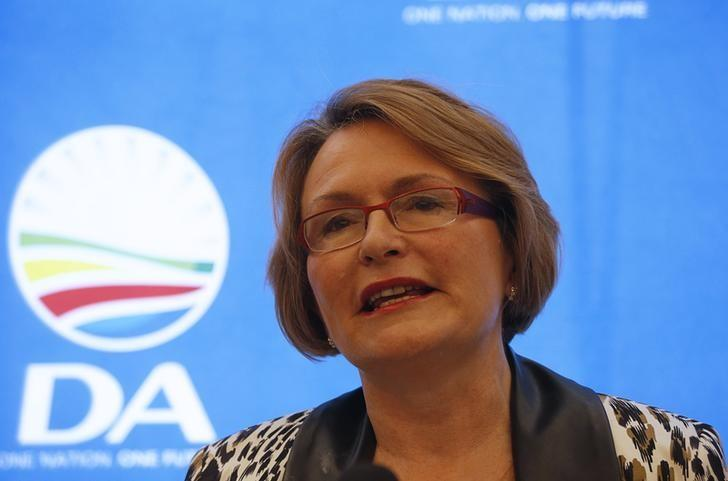 Helen Zille. Picture: REUTERS
