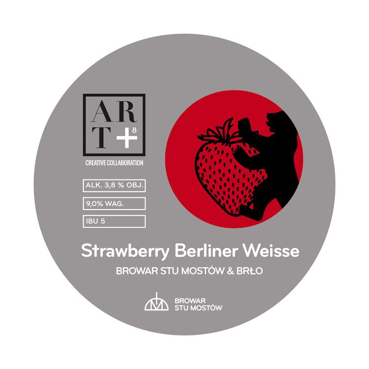 Logo of ART8 Strawberry Berliner Weisse