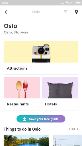 Oslo Travel Guide in English with map ss1