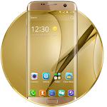 Gold Theme for Galaxy S8 Plus Icon