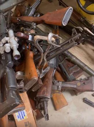 WATCH | 'This man can start a mini war': raid exposes arms cache, 'dagga lab' - SowetanLIVE