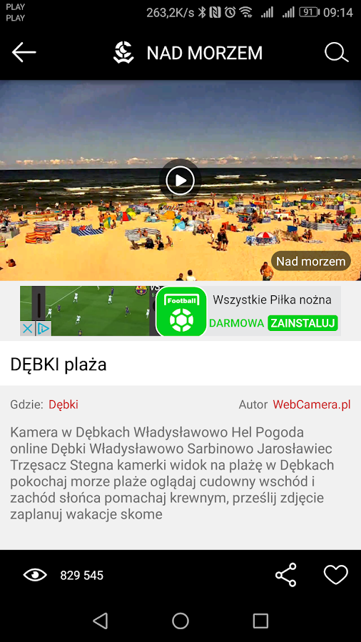 WebCamera.pl  PRO- screenshot