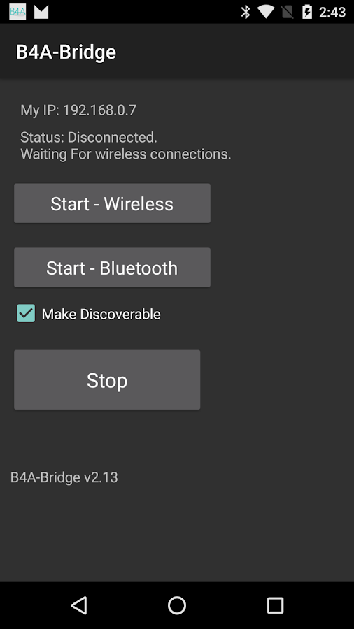 B4A-Bridge- screenshot