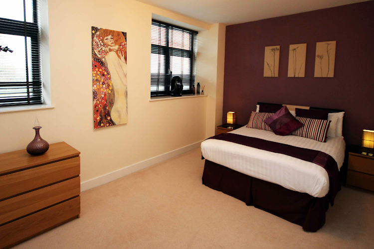 Bedroom at Lime Square