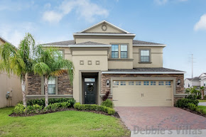 Orlando villa, gated golfing community, south-facing private pool and spa, close to Disney