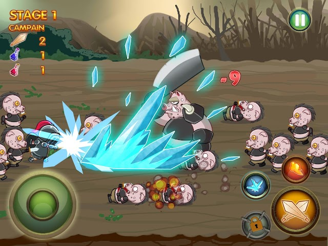 android Epic Heroes of Chaos Full Screenshot 1