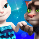 Talking Tom Gold Run Wallpapers and New Tab Icon