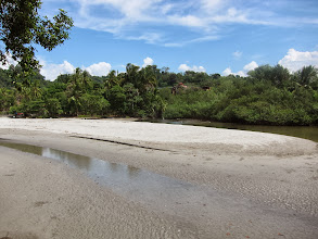 Photo: Laguna between Manuel Antonio and town