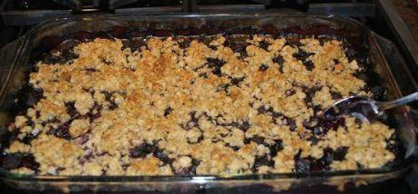 Easy Peasy Blueberry Cobbler Recipe
