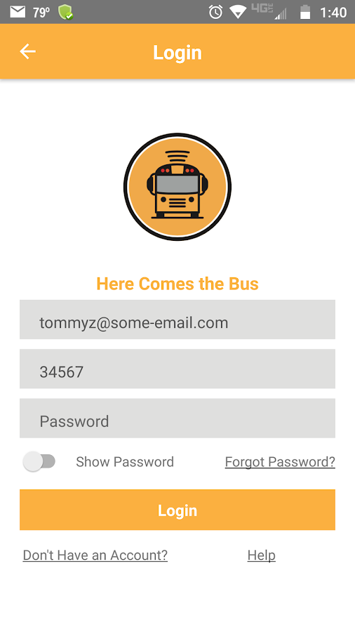 Here Comes the Bus- screenshot