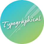 Typographical Zooper Theme v3.8.1