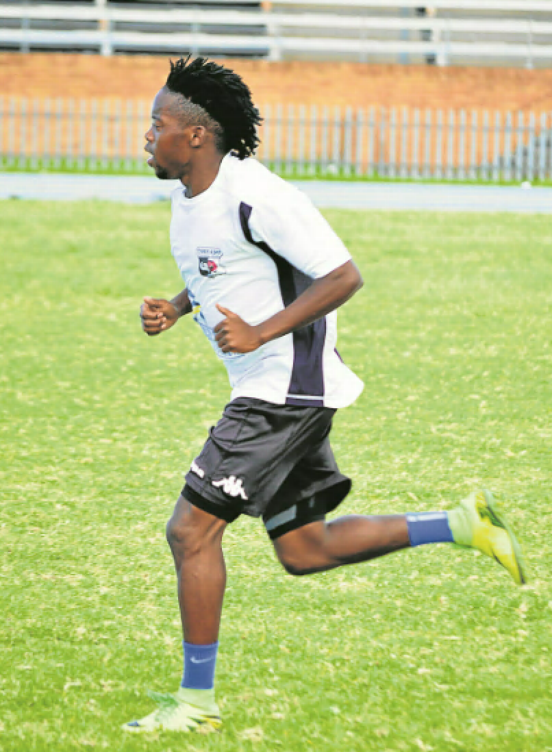 Former Tornado striker Charlie Hlalele is excited to have finally made it through to the Premier Soccer League after sealing a three-year deal with AmaZulu this week