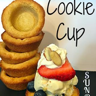 Cookie Cup Sundaes.