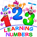 Learning numbers for kids!😻 123 Counting Games!👍 icon