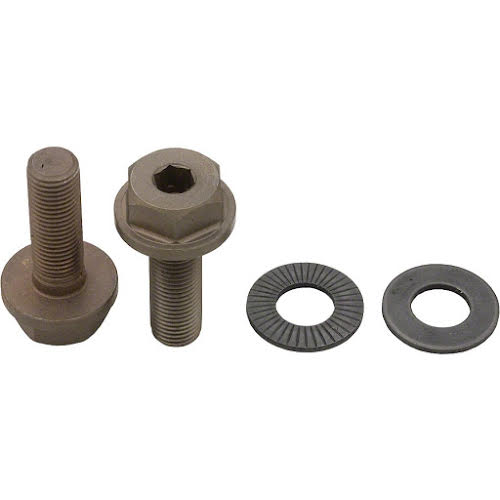 All-City New Sheriff 9x1mm SS Front Axle Bolts