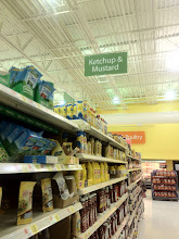 Photo: Once I found to ketchup aisle...