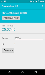 Calculadora UF- screenshot thumbnail