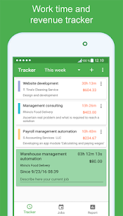 OneMoment - work time tracker for hourly workers - náhled