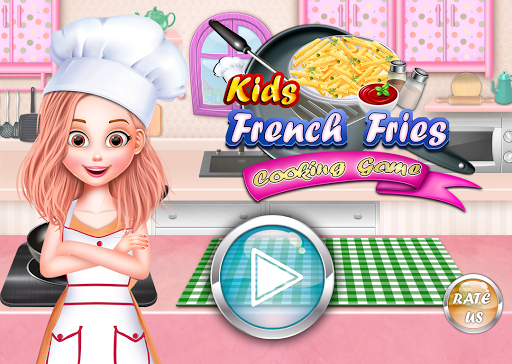 Crispy French Fries Recipe - Top Chef Cooking Game  captures d'écran 1