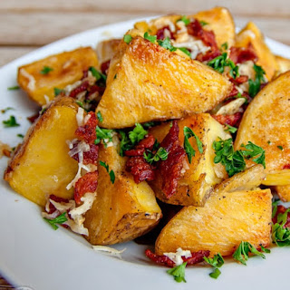 Oven Roasted Potatoes With Cheese Recipes.