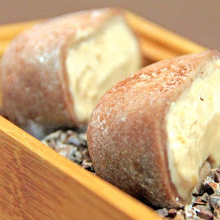 Milk Chocolate Hazelnut Mochi Ice Cream
